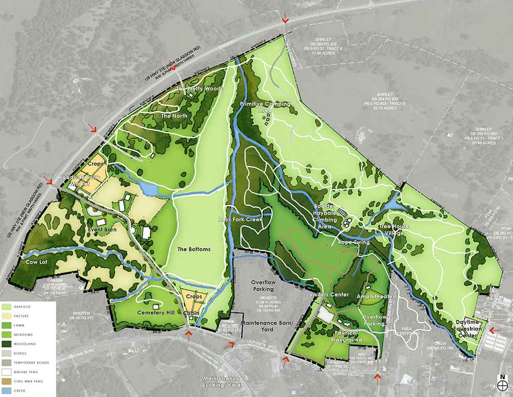 Dugas Community Park Rendering