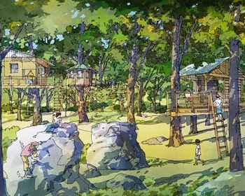 Treehouse rendering